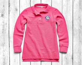women's polo shirt with long sleeves