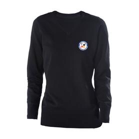 women's navy sweater