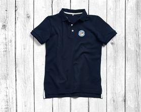 men's polo shirt with short sleeves